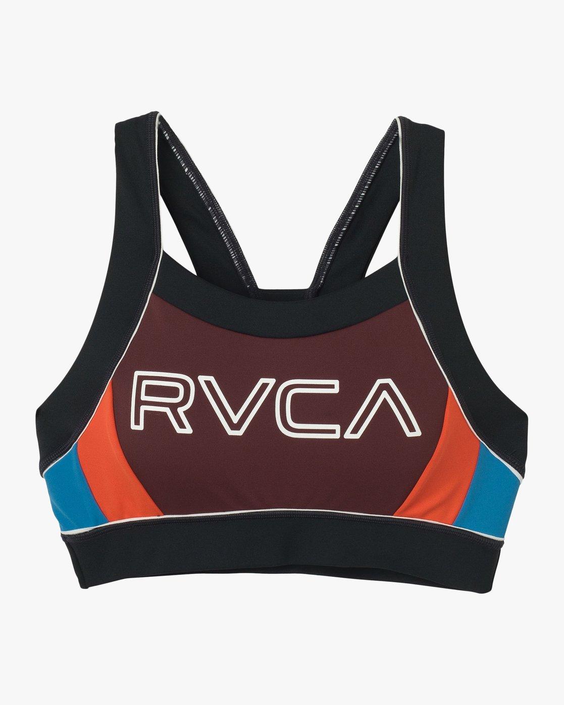 5 VA Lock Sports Bra Multicolor TQ02QRLO RVCA