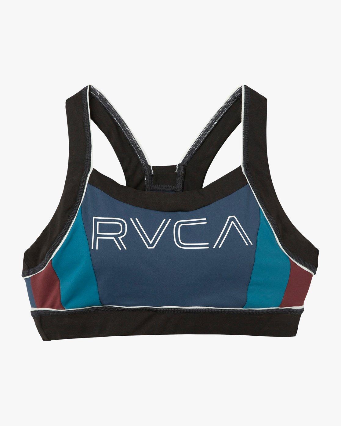 5 VA Lock Sports Bra Blue TQ02QRLO RVCA