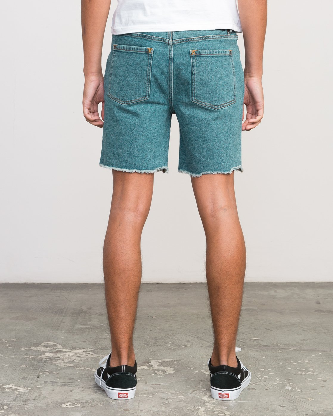4 Neutral Carver Denim Shorts Blue U252PRCA RVCA