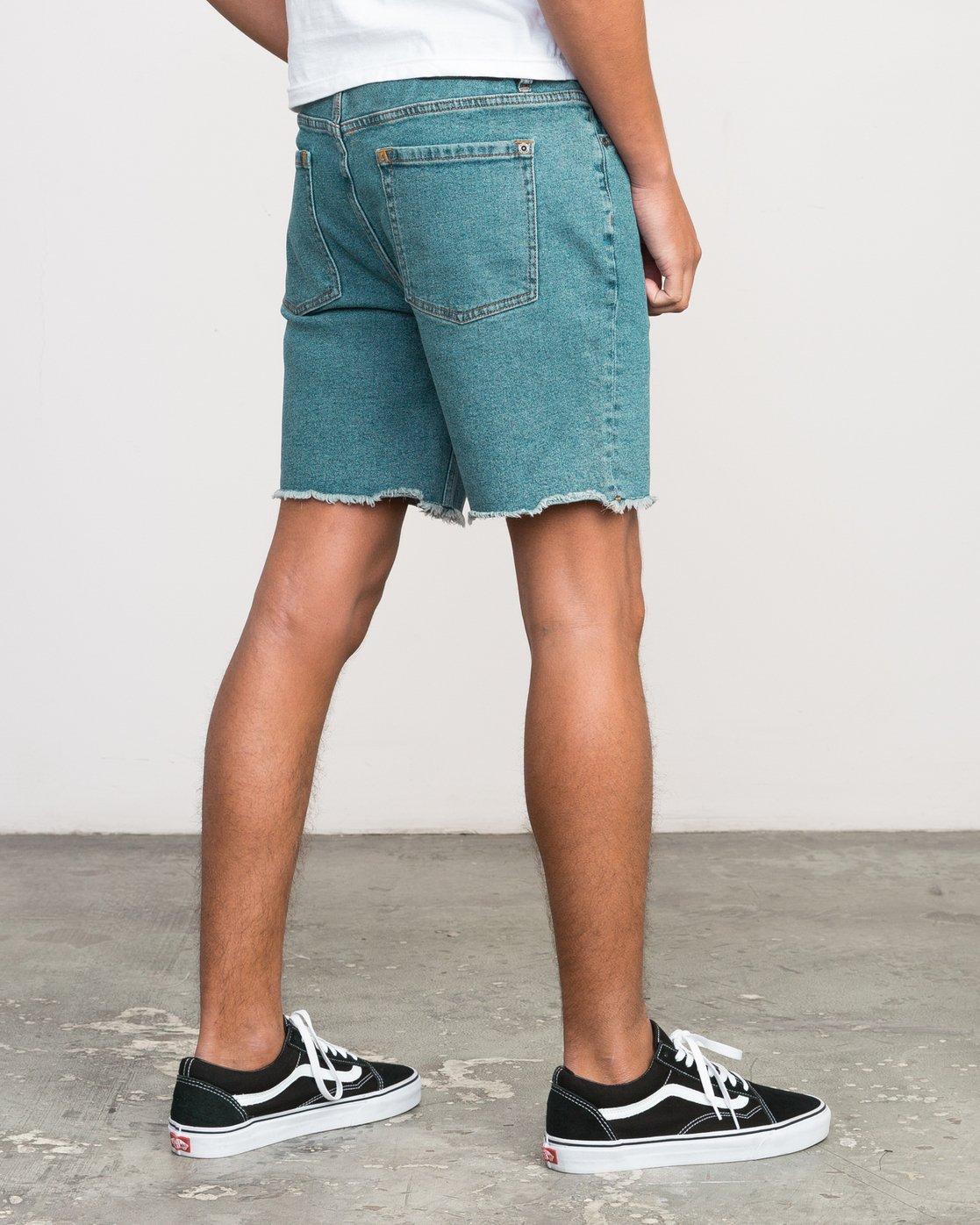 5 Neutral Carver Denim Shorts Blue U252PRCA RVCA