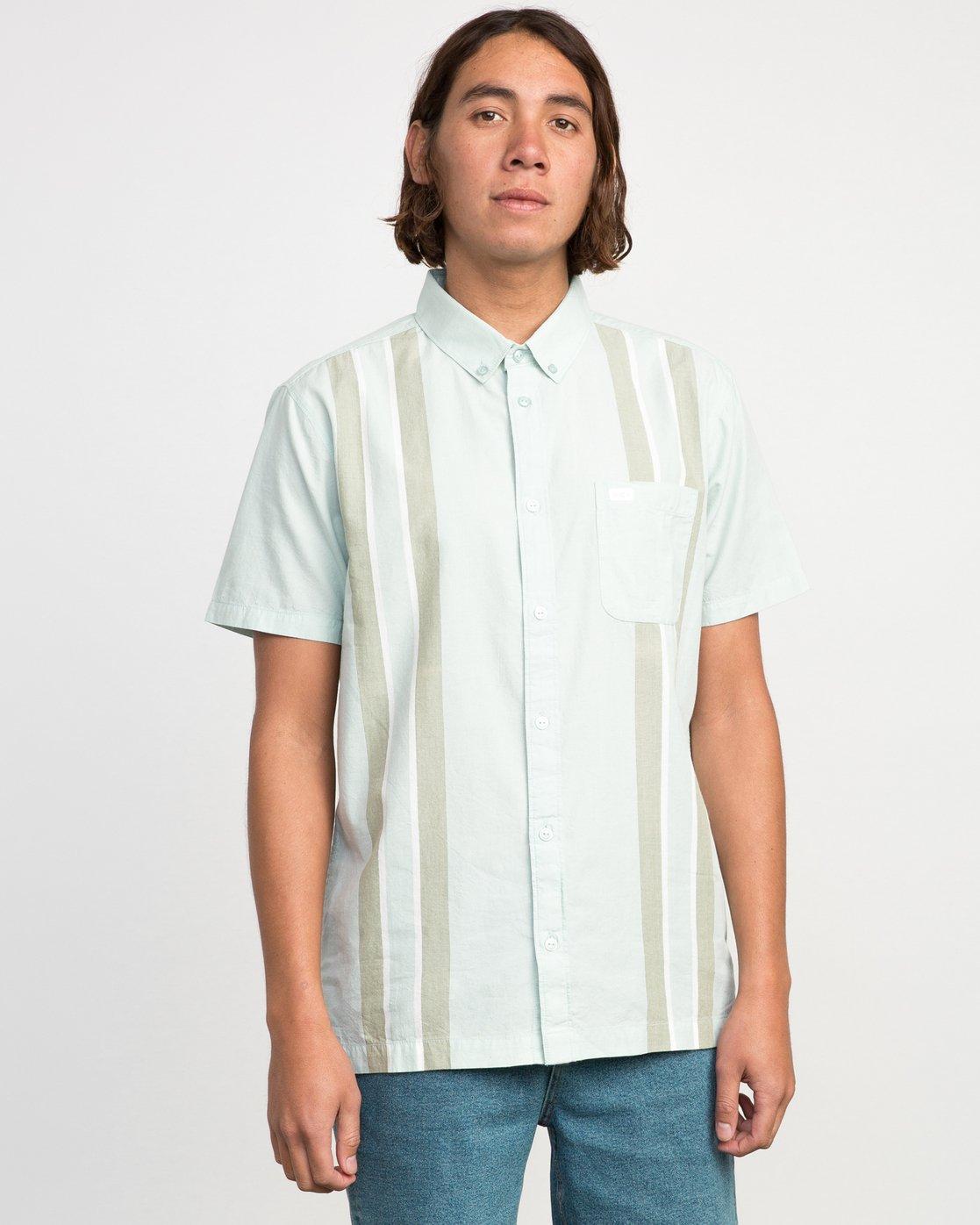 1 Neutral Havanna Button-Up Shirt Grey U501PRHA RVCA