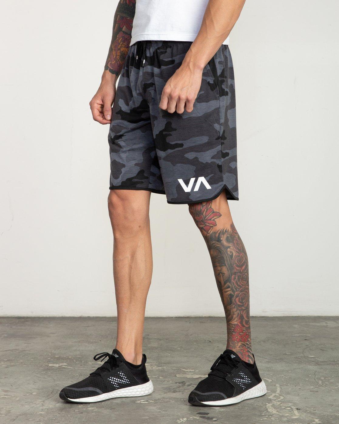 """2 VA Sport Short II 20"""" Short Black V255QRVE RVCA"""