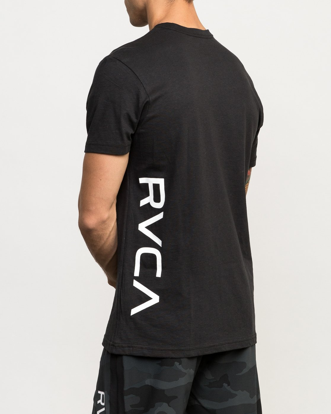 3 Sides Performance T-Shirt Black V402QRSI RVCA