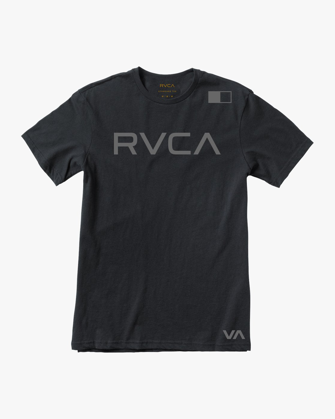 0 Flipped T-Shirt Black V402SRFL RVCA