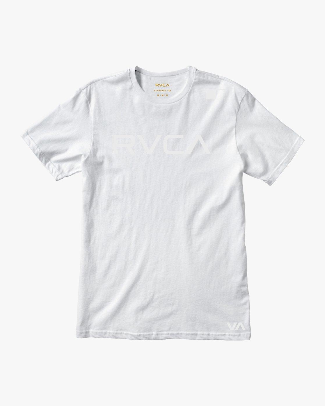 0 Flipped T-Shirt White V402SRFL RVCA