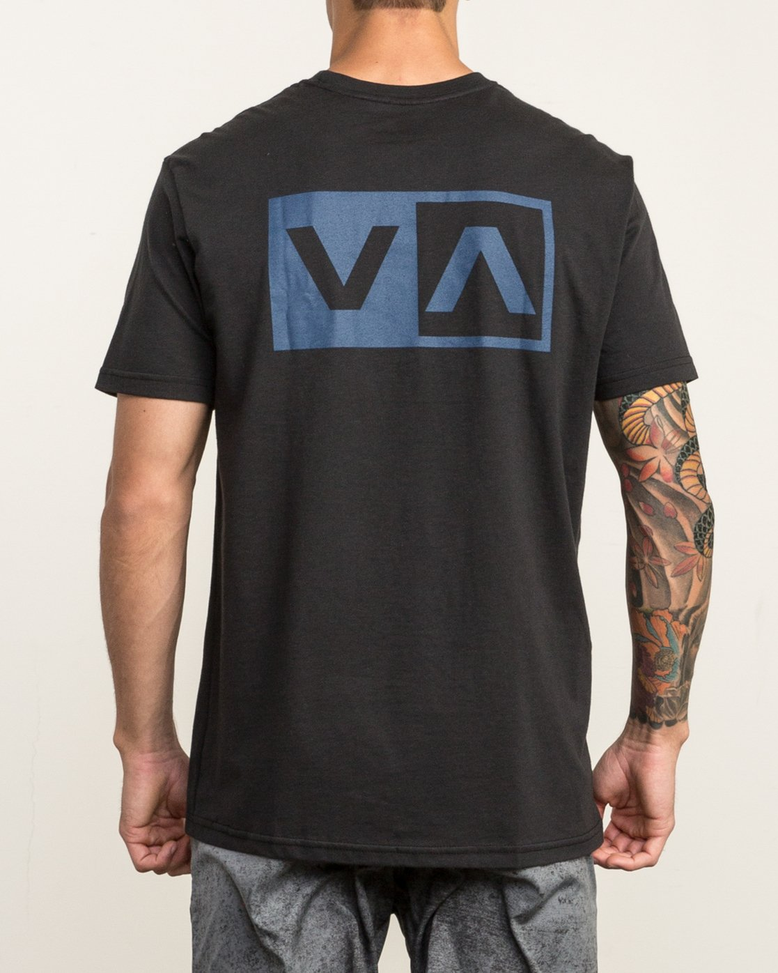 4 Stacked T-Shirt Black V402SRST RVCA