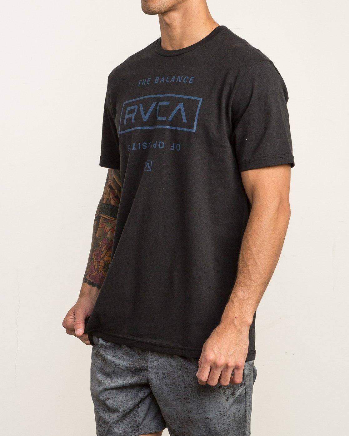 3 Stacked T-Shirt Black V402SRST RVCA