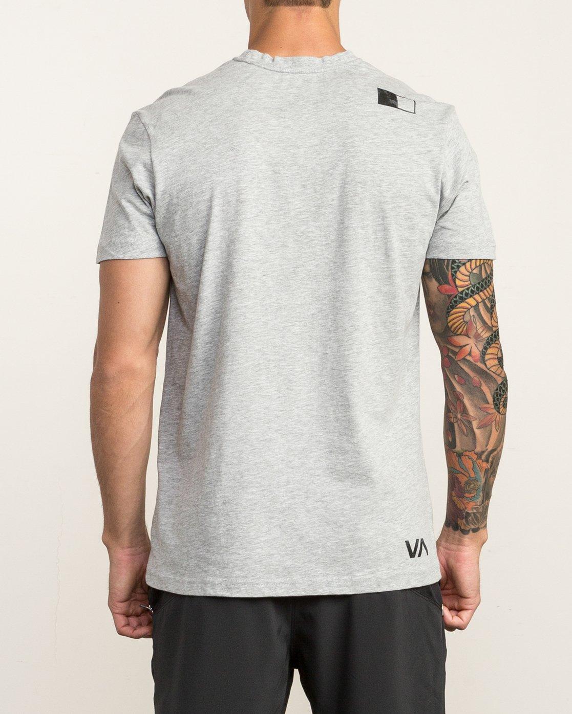 5 VA RVCA Sport T-Shirt Grey V402SRVA RVCA