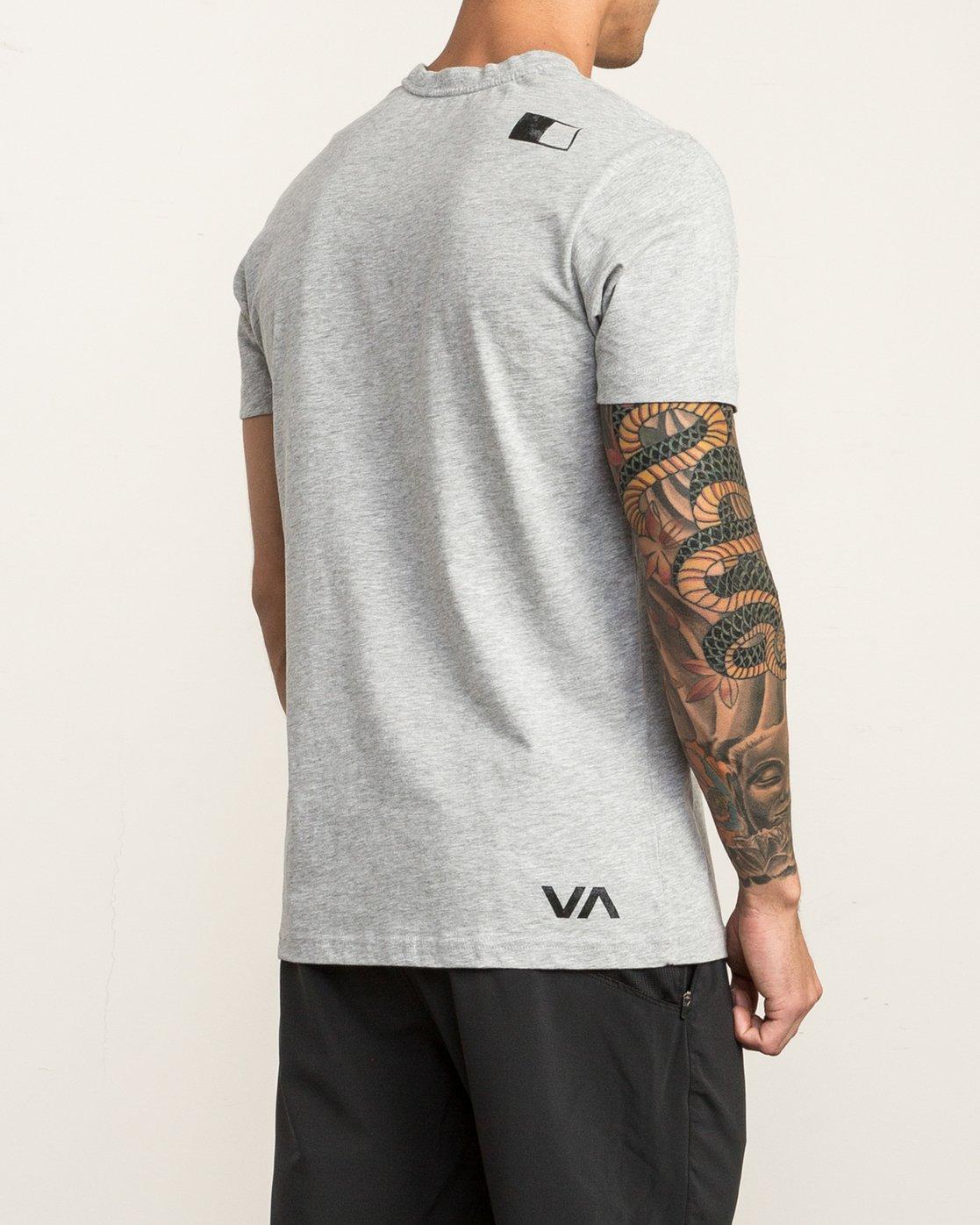4 VA RVCA Sport T-Shirt Grey V402SRVA RVCA