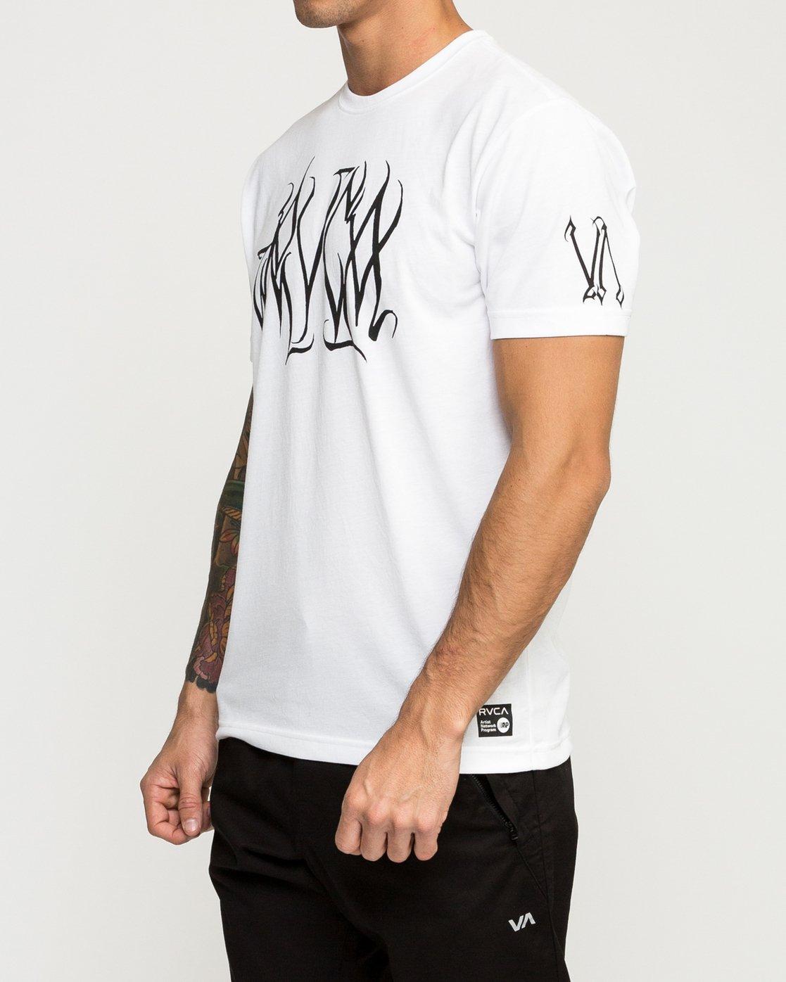 2 Big Defer Performance T-Shirt White V404TRBI RVCA