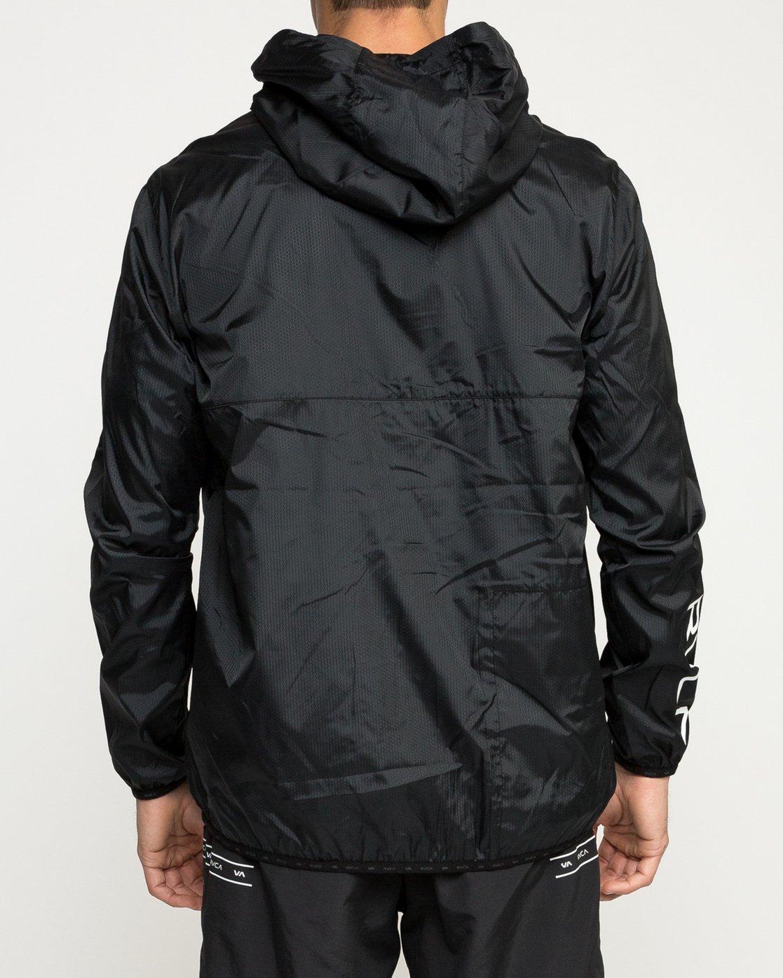 4 Hexstop IV Jacket Black V701TRHP RVCA