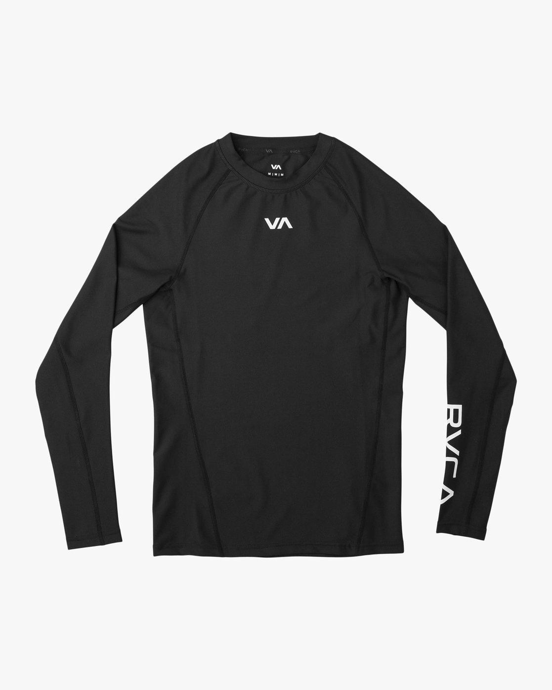 0 VA Performance Long Sleeve Shirt Black V902QRCL RVCA