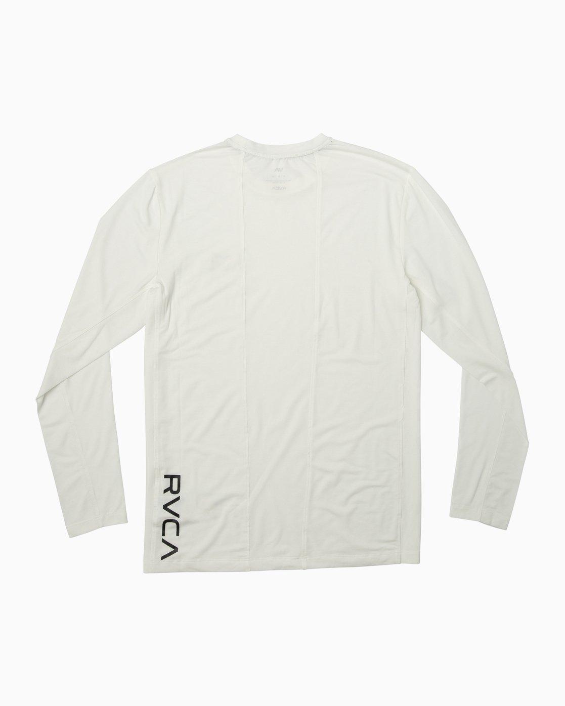 1 VA Vent Long Sleeve Top White V903QRVL RVCA