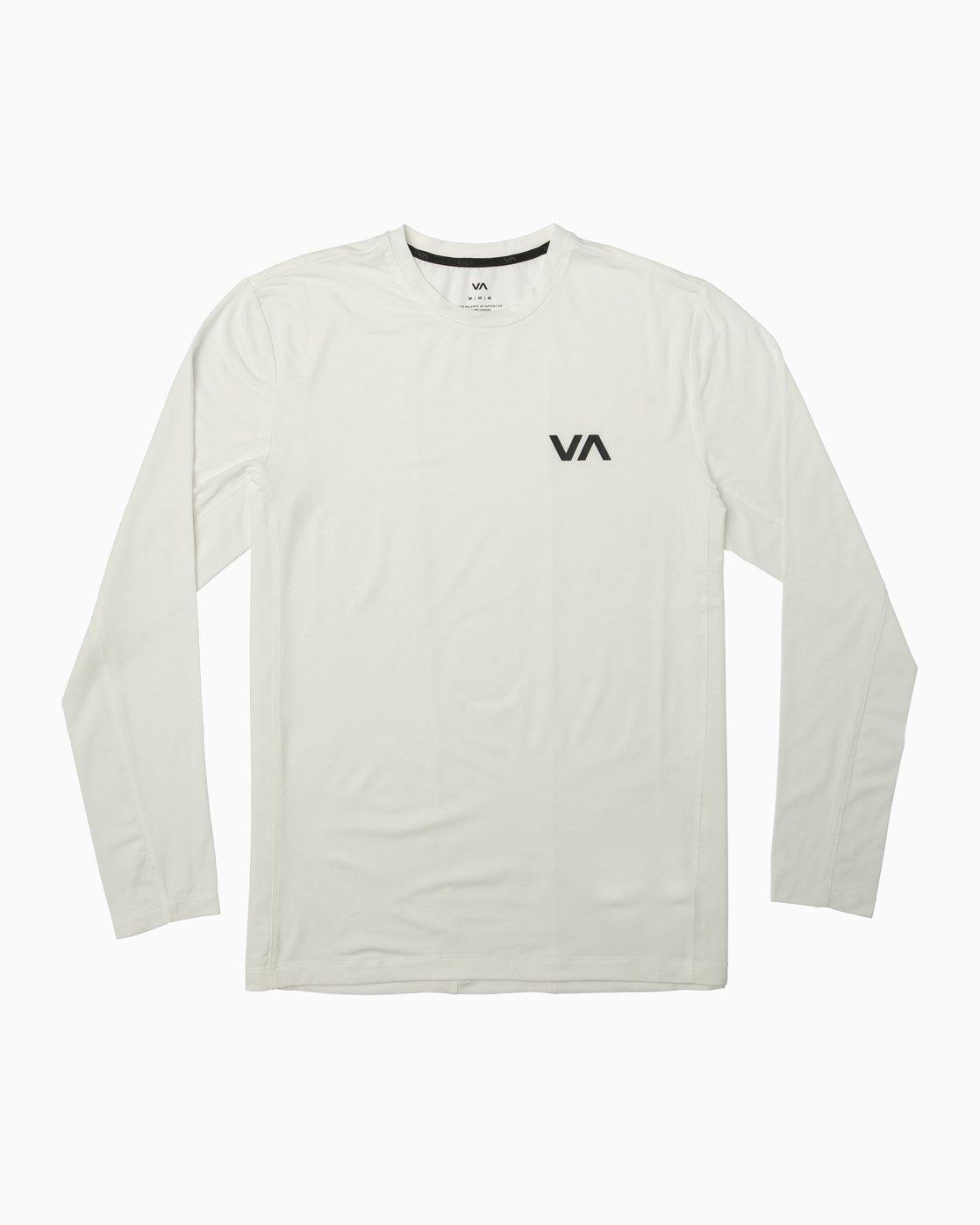 0 VA Vent Long Sleeve Top White V903QRVL RVCA