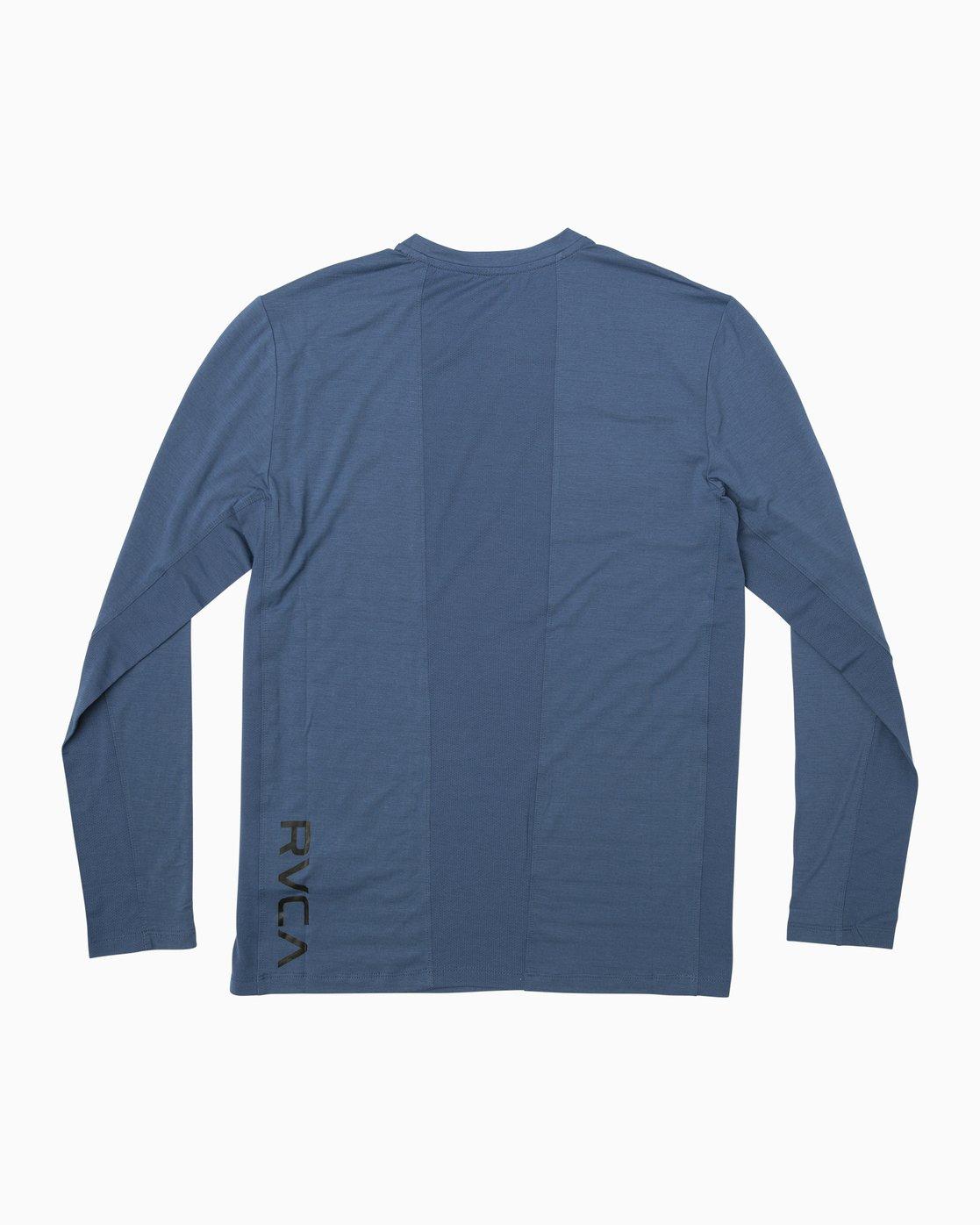 1 VA Vent Long Sleeve Top Blue V903QRVL RVCA