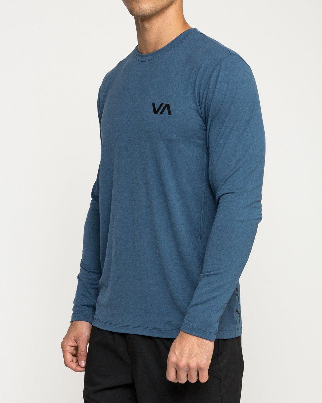 3 VA Vent Long Sleeve Top Blue V903QRVL RVCA