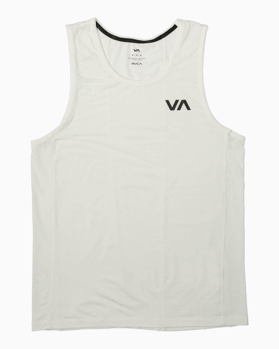 0 VA Vent Tank Top White V905QRVT RVCA