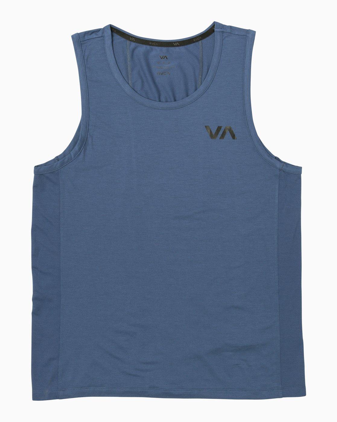 0 VA Vent Tank Top Blue V905QRVT RVCA