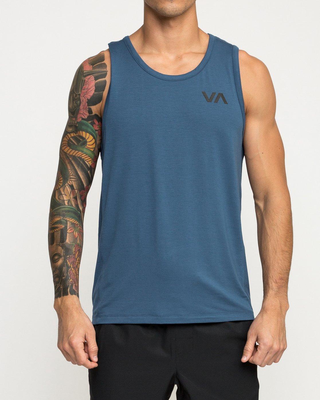 2 VA Vent Tank Top Blue V905QRVT RVCA