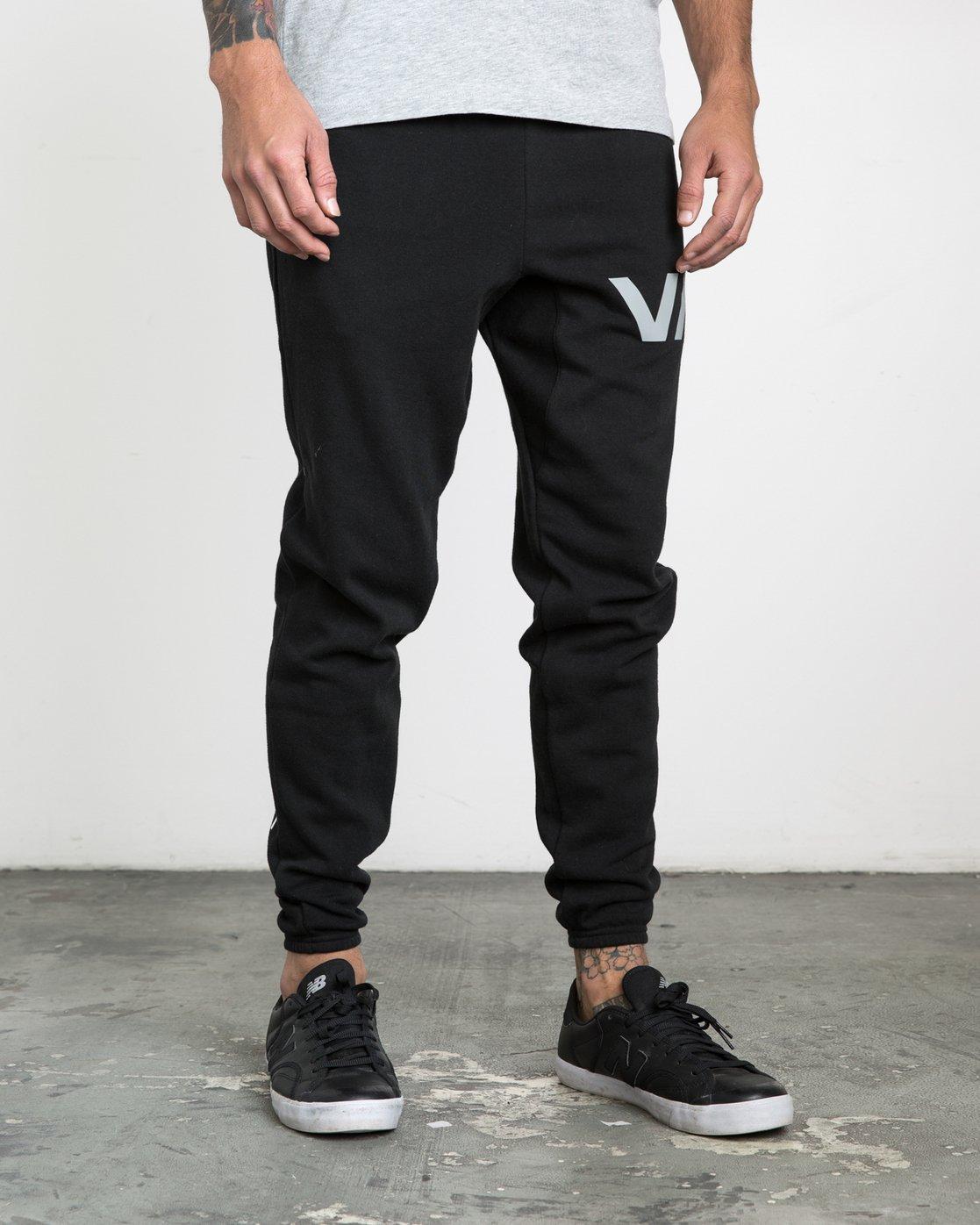 5 The Swift Sweat Pant Black VJ301SWT RVCA
