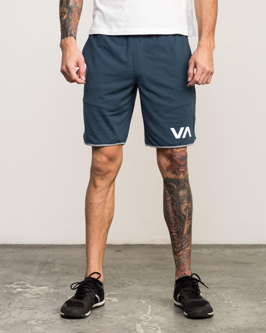 """1 VA Sport Short II 20"""" Short Blue VL201SPO RVCA"""