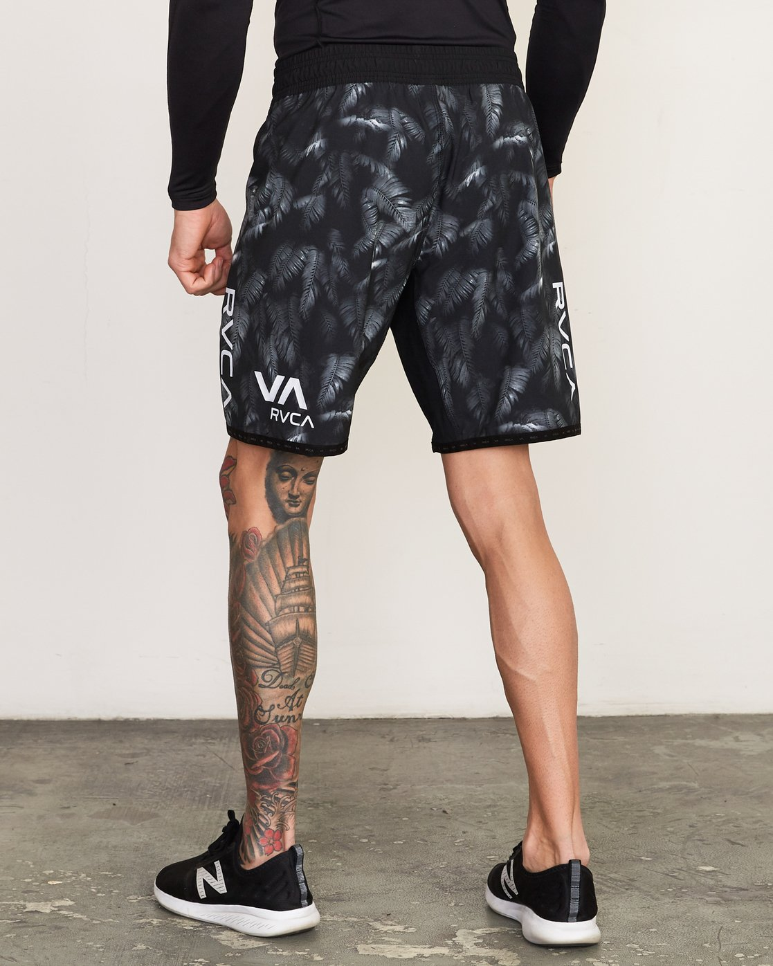 3 BJ Penn Scrapper Short Grey VL203BSC RVCA