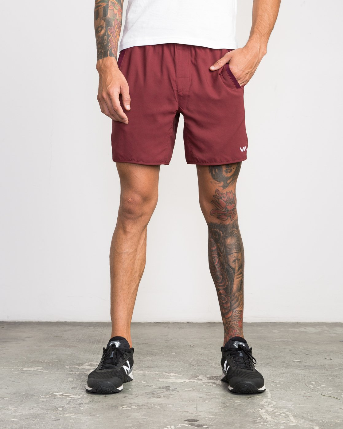 1 Yogger III Short Brown VL204YGR RVCA