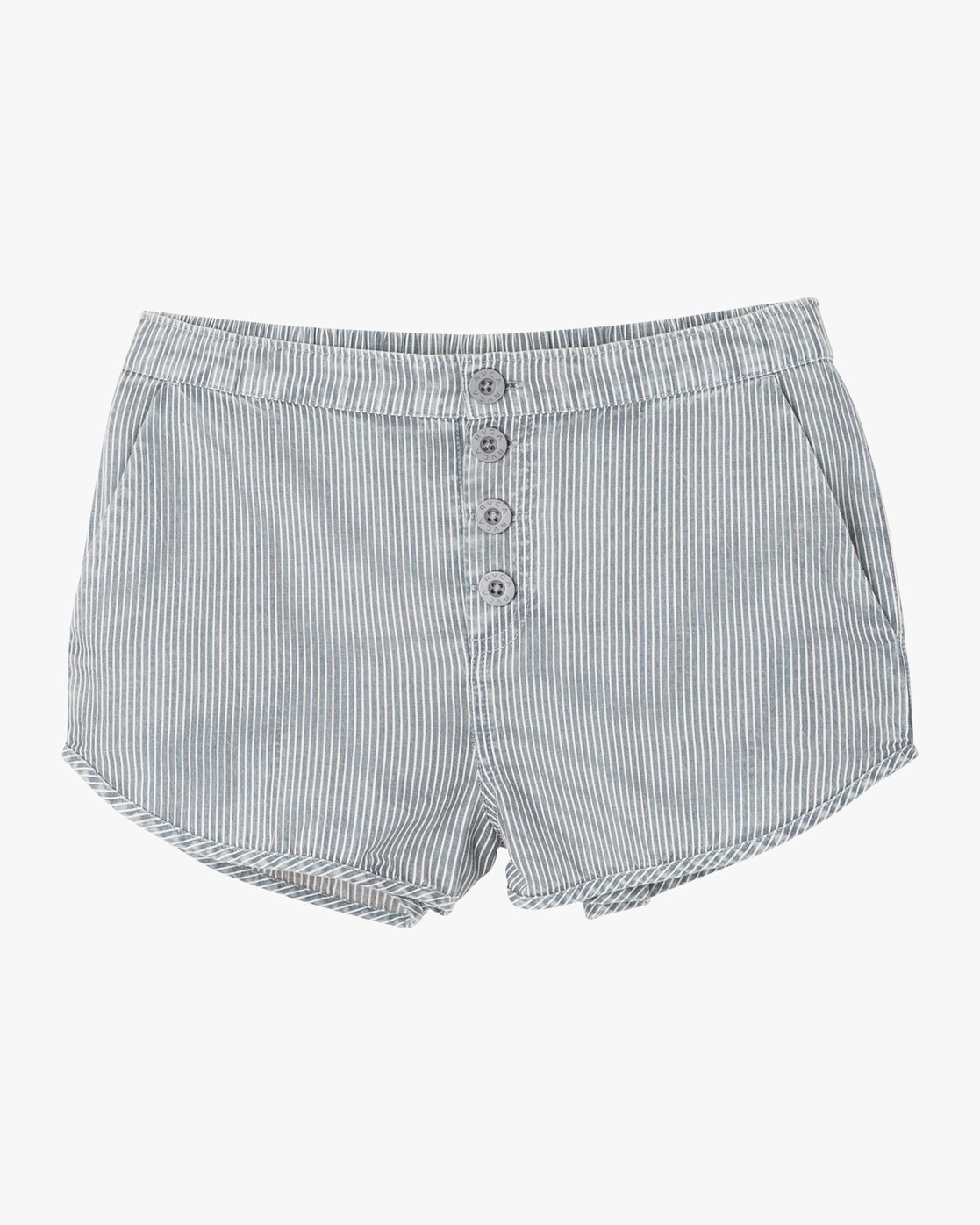 6 Steadfast Striped Short Blue W204PRST RVCA