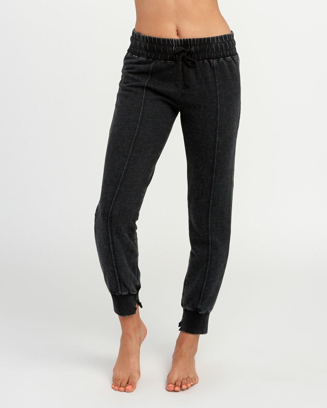 0 Faint Fleece Sweat Pant Black W301QRFA RVCA
