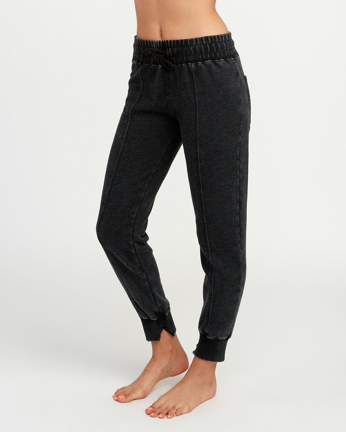 1 Faint Fleece Sweat Pant Black W301QRFA RVCA