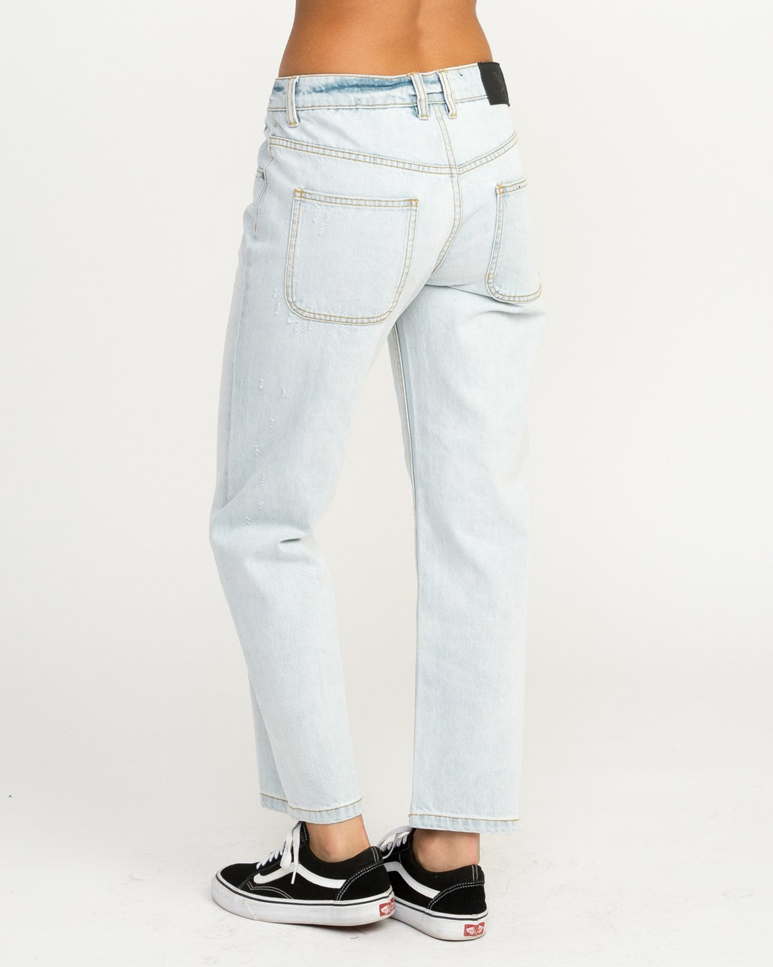 3 Filtered Straight Leg Denim Jean White W301QRFL RVCA