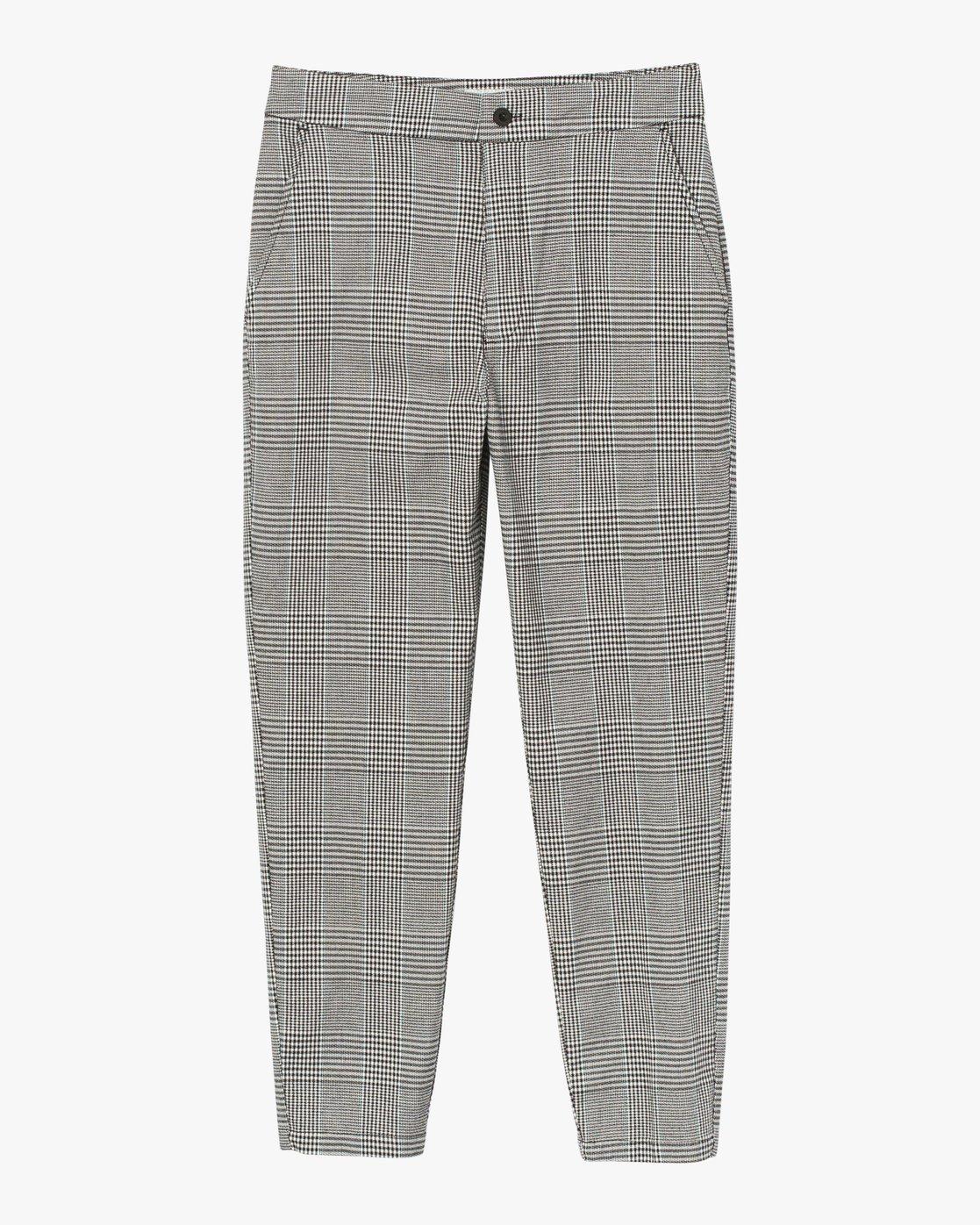 6 Remy Plaid Trousers White W301SRRE RVCA