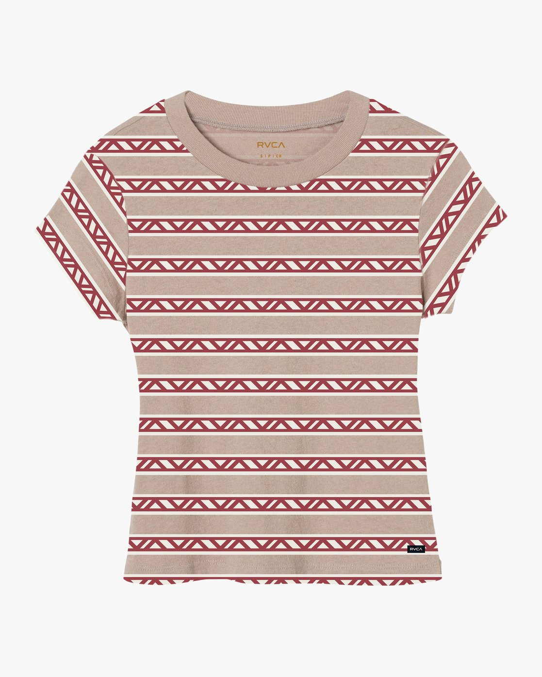 4 Repeater Fitted T-Shirt Multicolor W419QRVA RVCA
