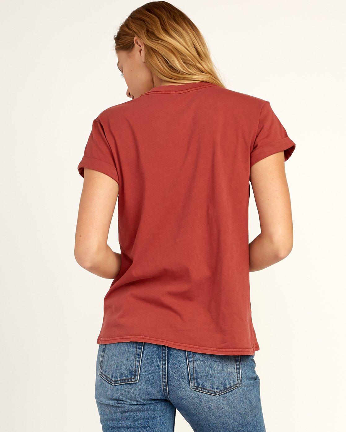 1 Billiard T-Shirt Red W436TRBI RVCA