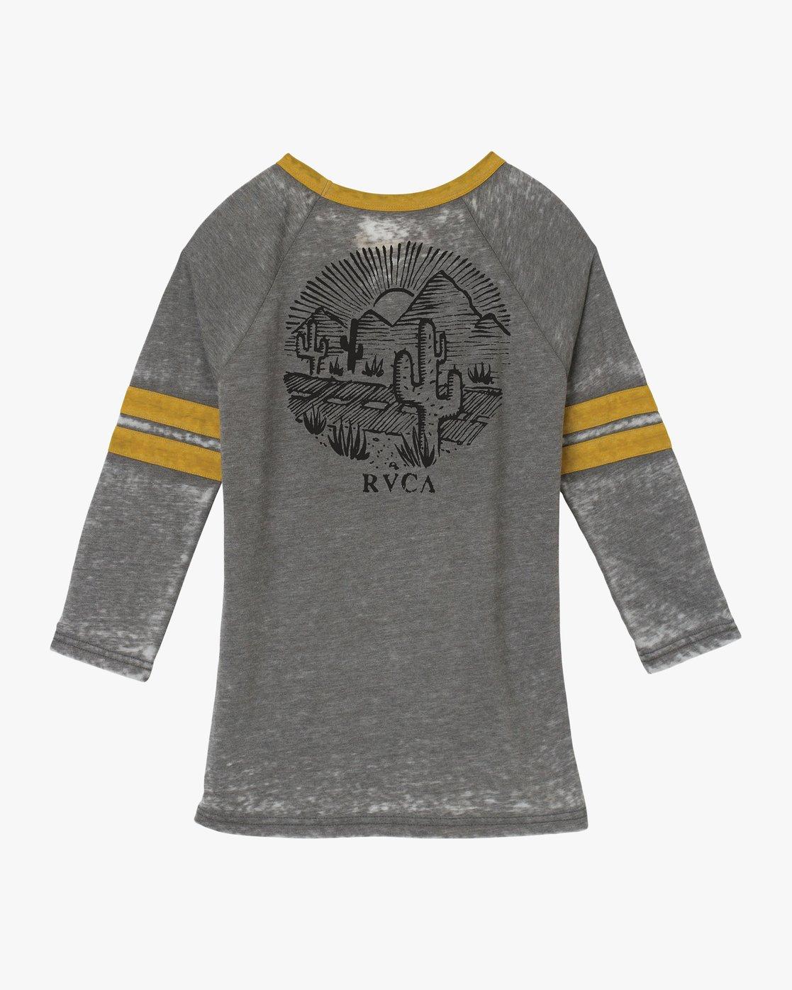 5 Cactus Road Tri-Blend T-Shirt Grey W457QRCA RVCA