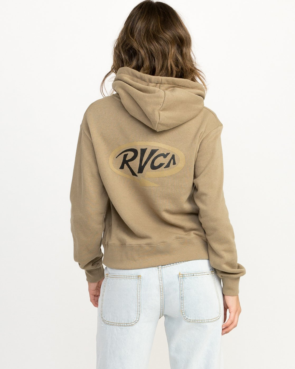1 Looped Hoodie  W614QRLO RVCA