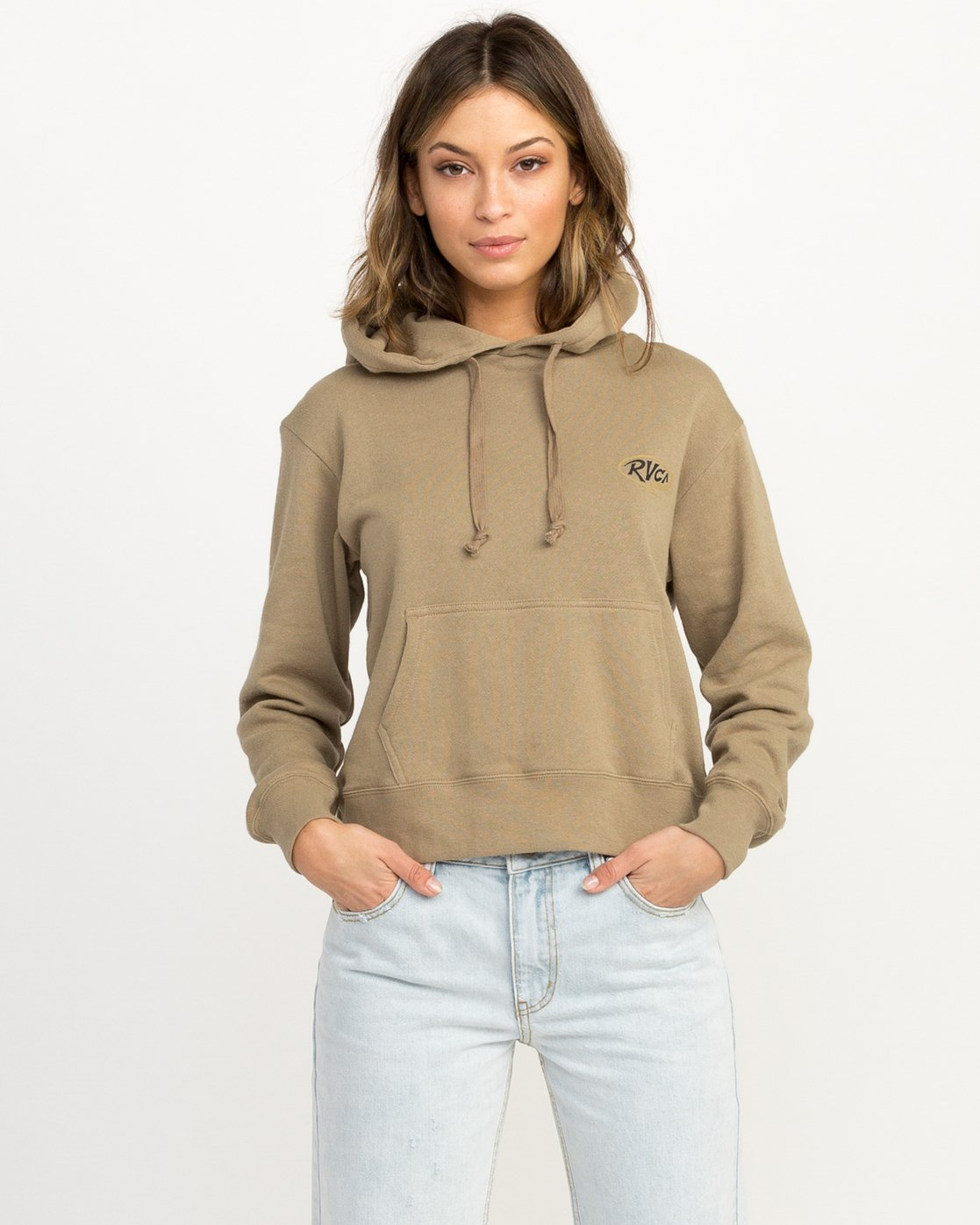 0 Looped Hoodie  W614QRLO RVCA