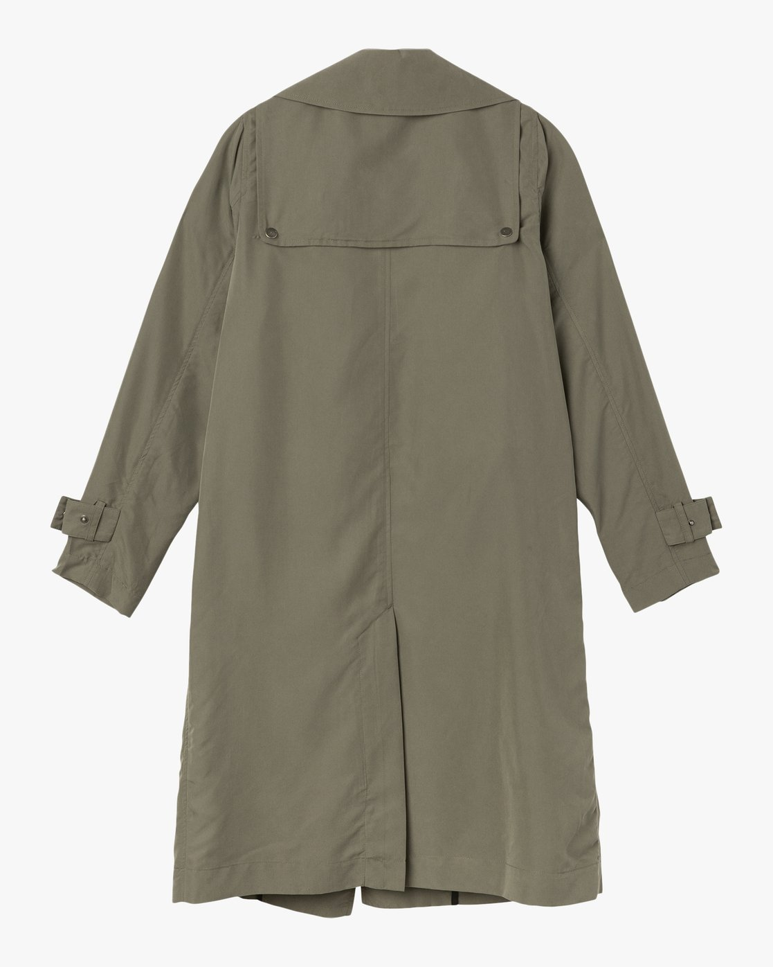 6 Mac Draped Trench Coat Green W701SRMA RVCA