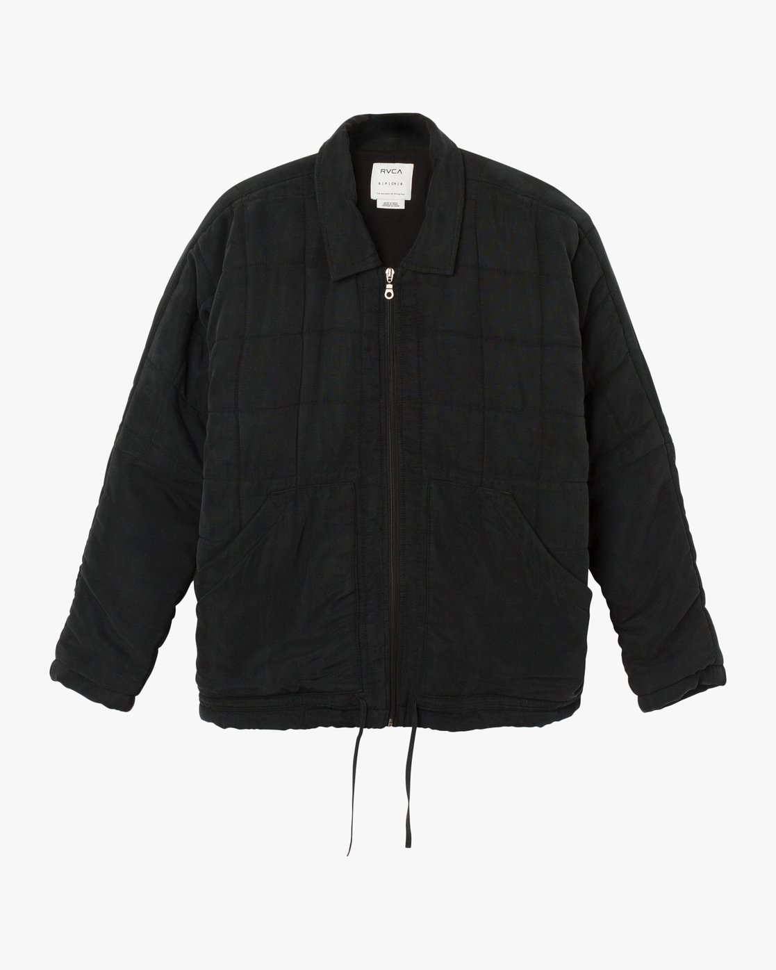 6 Carton Quilted Jacket Black W702SRCA RVCA