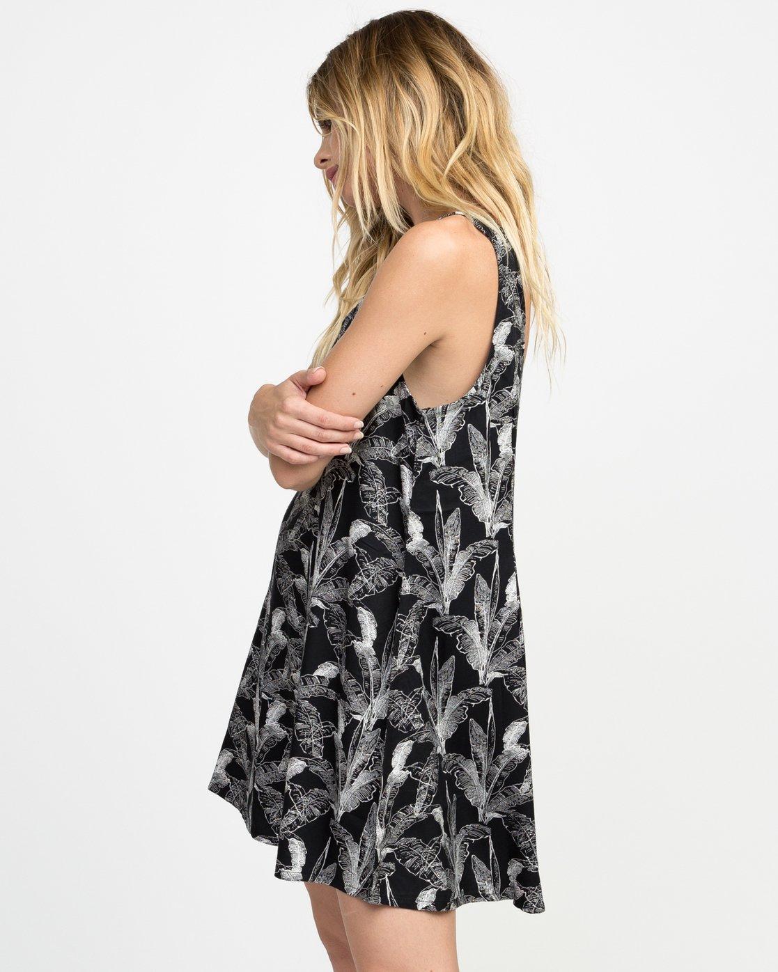 1 Landline Printed Woven Dress  WD01NRLA RVCA