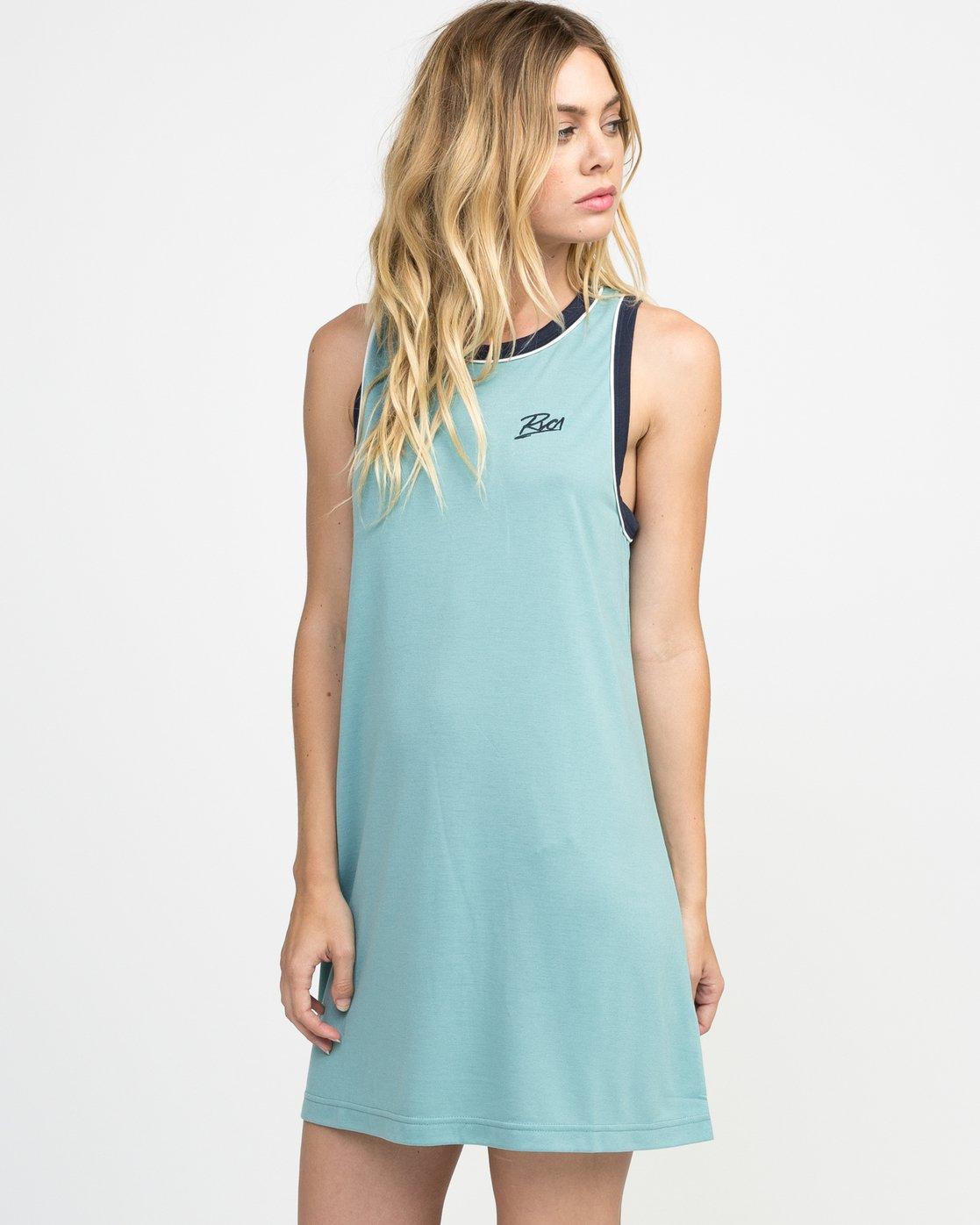 1 Offense Knit Dress Blue WD03NROF RVCA
