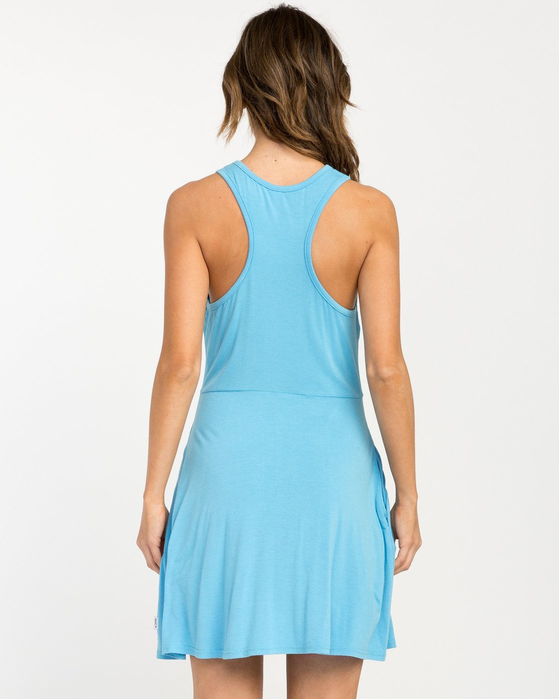 2 Iris Tank Dress Blue WD03PRIR RVCA