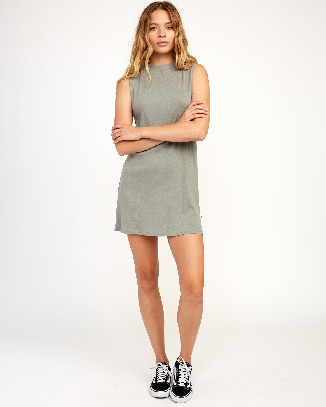 4 Talin Dress Grey WD03TRTA RVCA