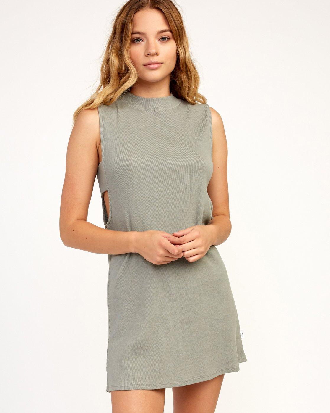 0 Talin Dress Grey WD03TRTA RVCA