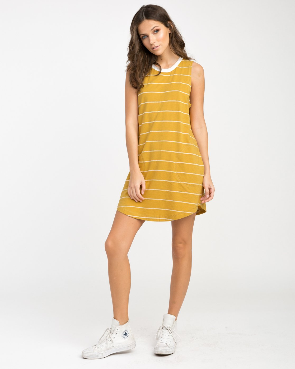 3 Byrdie Striped Knit Dress  WD06NRBY RVCA