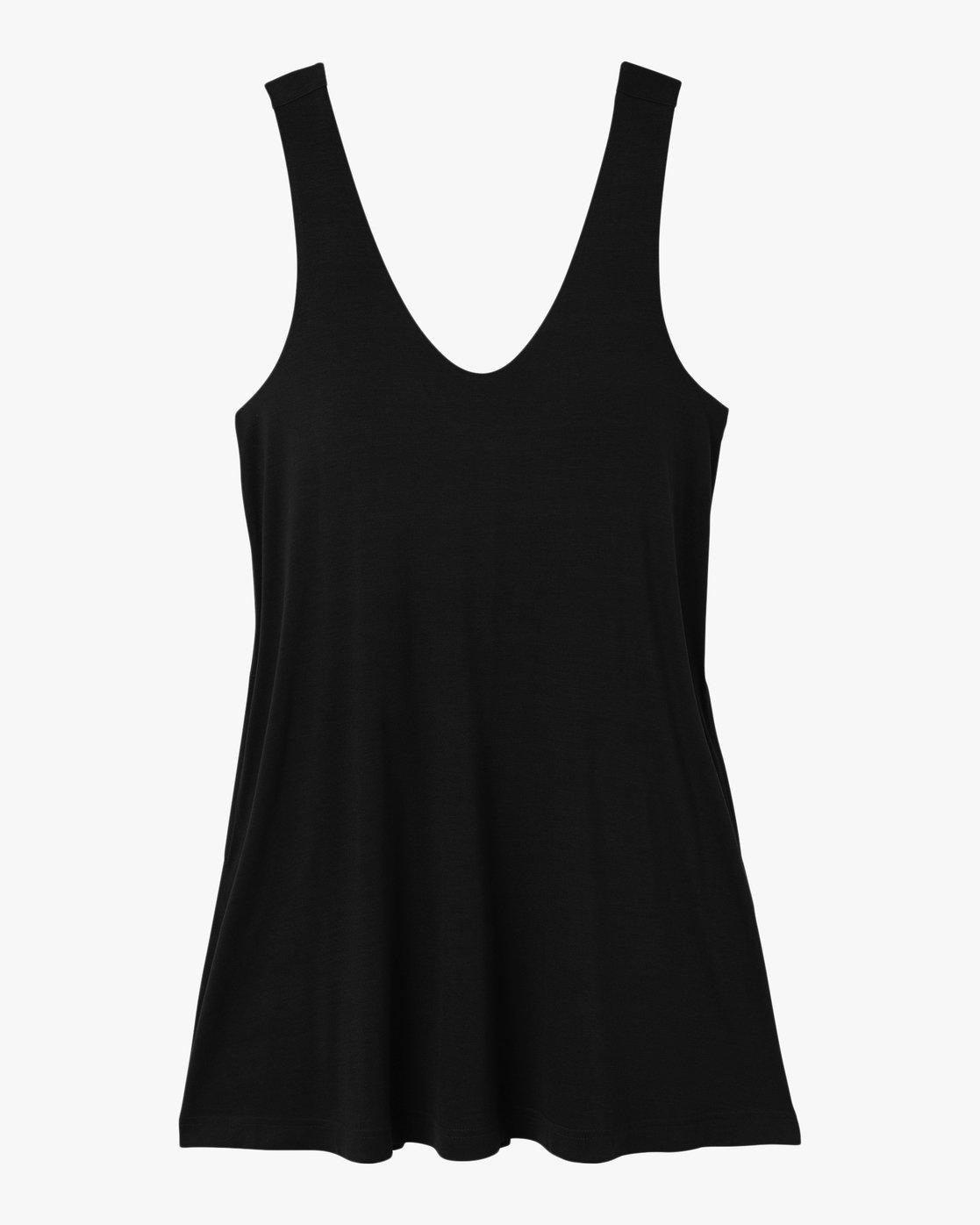 5 Chances Knit Tank Dress Black WD07NRCH RVCA
