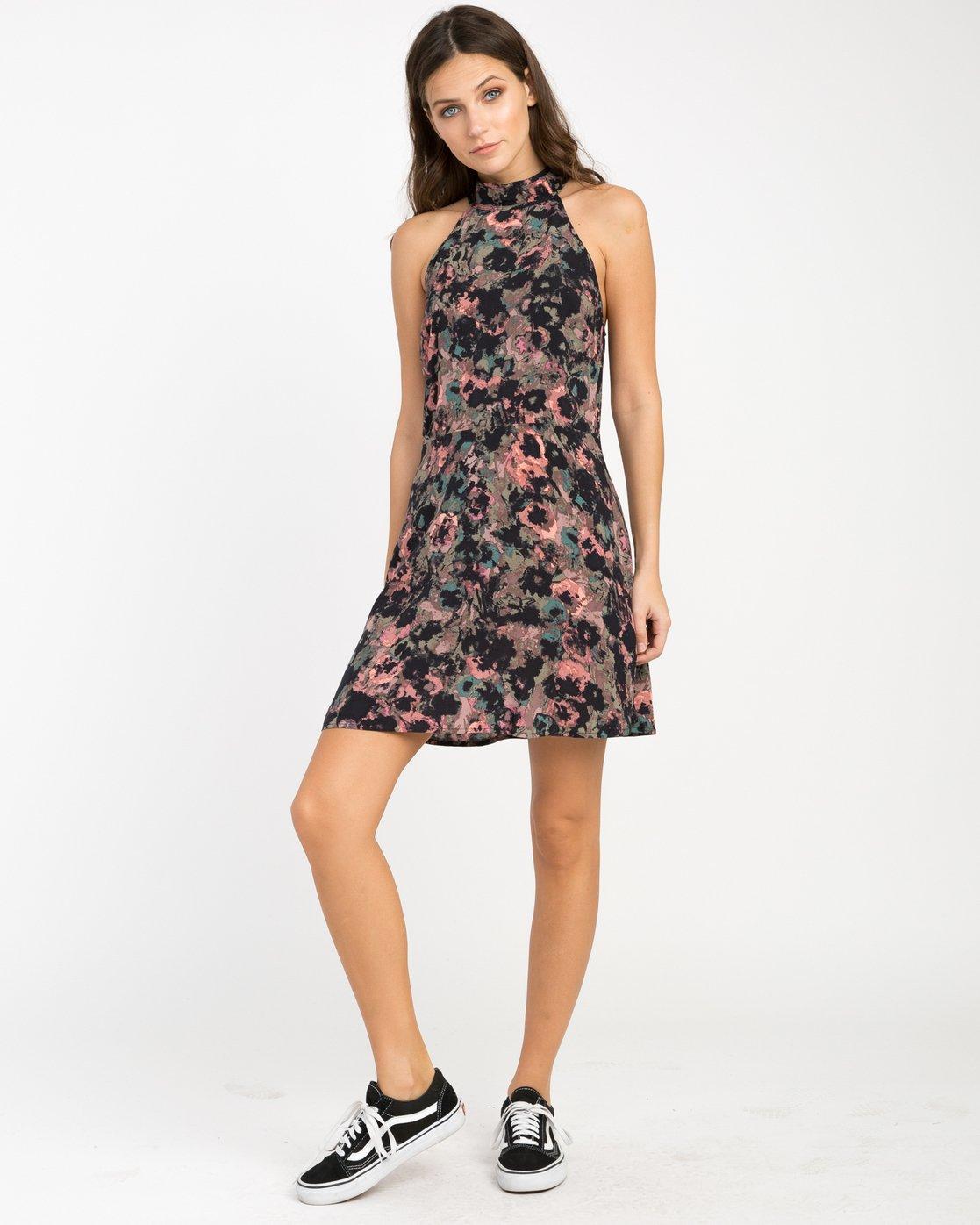 3 Kingsman Floral Dress  WD11NRKI RVCA