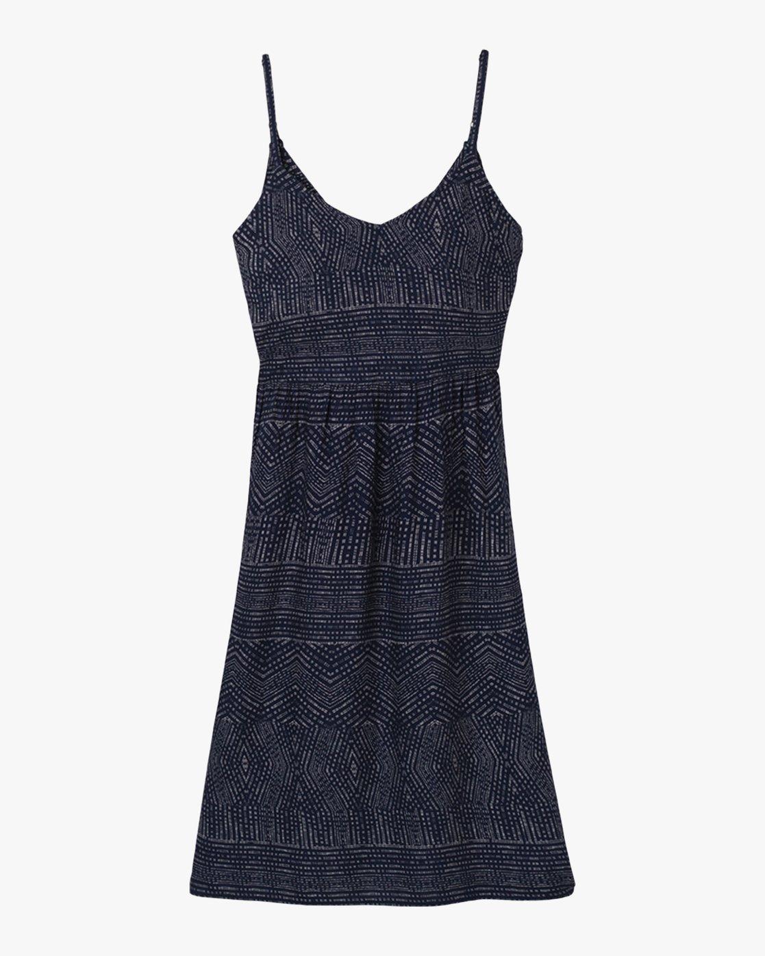 5 Nolan Printed Dress Blue WD14QRNO RVCA