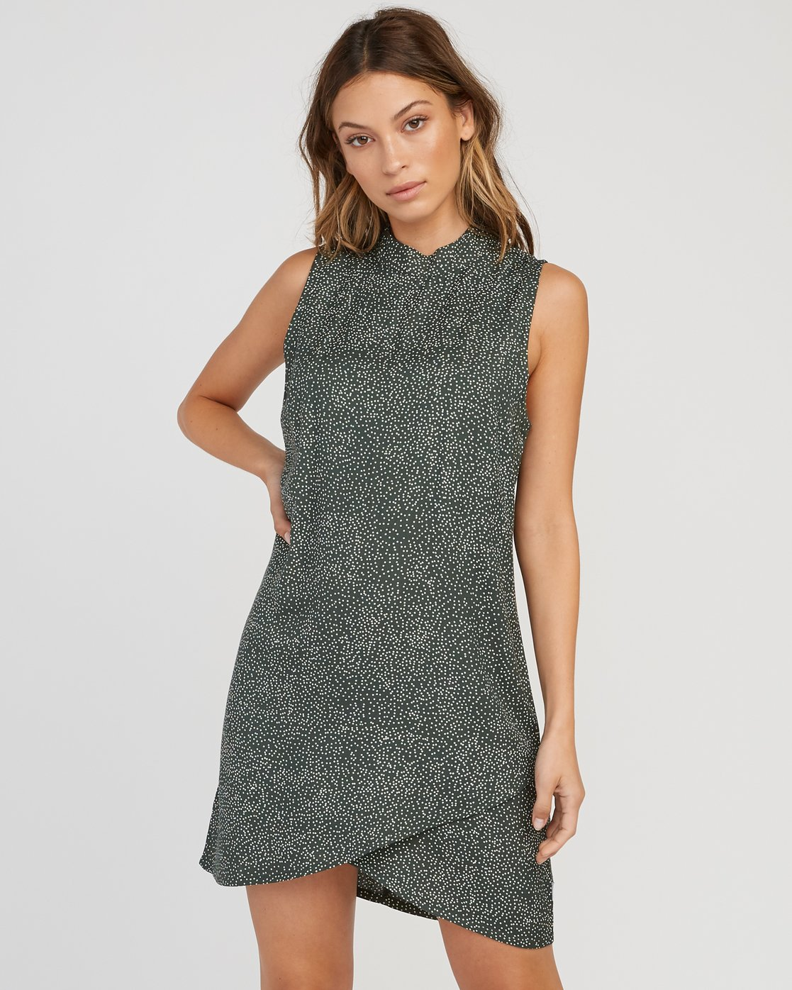 0 Safi Shift Dress Green WD17SRSA RVCA