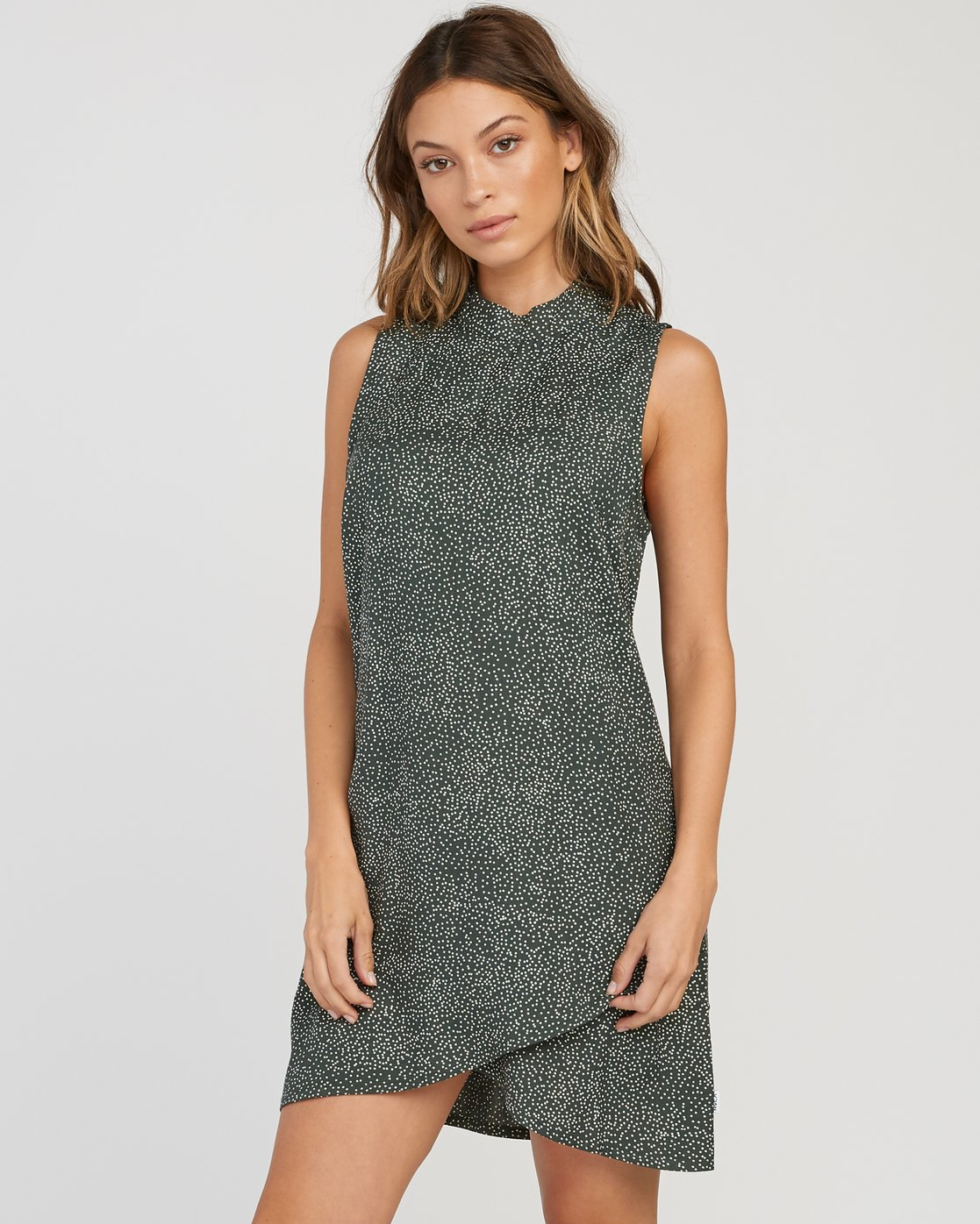 1 Safi Shift Dress Green WD17SRSA RVCA